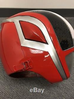 Power Rangers Spd Red Helmet Costume Cosplay Used Dekaranger