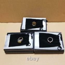 Power Rangers Super Megaforce Gokaiger Yellow Ring Set Cosplay Accessories Japan
