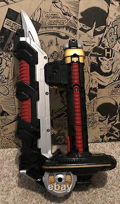 Power Rangers Super Samurai MEGABLADE & BULLZOOKA extending sword Cosplay Works