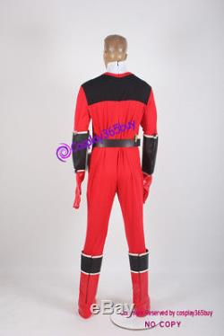 Power Rangers Time Force Quantum Ranger Cosplay Costume include boots covers