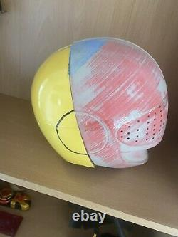 Power Rangers Time Force Yellow Ranger Cosplay Costume Helmet Kit