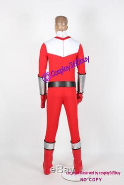 Power Rangers Time Force cosplay Time Force Red Ranger Cosplay Costume