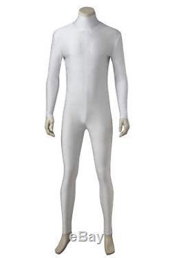 Power Rangers Tommy Oliver White Ranger Cosplay Costume Custom Made Halloween