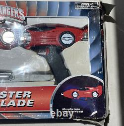 Power Rangers Turbo Auto Blaster And Turbo Blade With Box Works Cosplay
