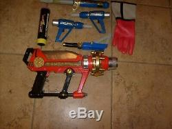 Power Rangers Vintage Mmpr Turbo Weapons, Glove & Blaster Lot Pretend Cosplay