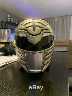 Power Rangers White Ranger Helmet (Aniki Cosplay Replica)