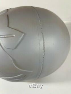 Power Rangers White Ranger Raw Unfinished Helmet Kit (for cosplay or display)