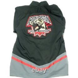 Power Rangers Wild Force 2001 Costume Cosplay GAO BLACK GAORANGER Size Adult L