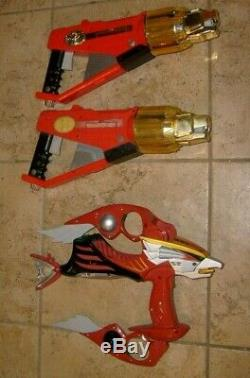 Power Rangers Wild Force Vintage Falcon Goo Bow Blaster Weapons Pretend Cosplay
