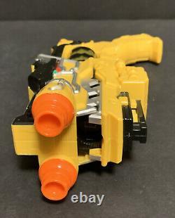 Power Rangers Yellow Dino Charge Morpher Gun Blaster Bandai Charger Cosplay