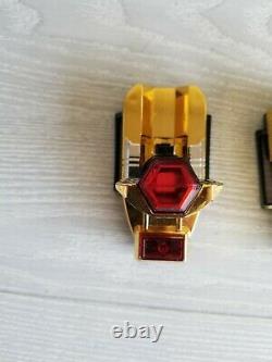 Power Rangers ZEO Gold ZEONIZER Morpher Communicator Set Battle Damage Cosplay