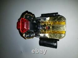 Power Rangers ZEO Gold ZEONIZER Morpher Communicator with Straps Cosplay Damaged