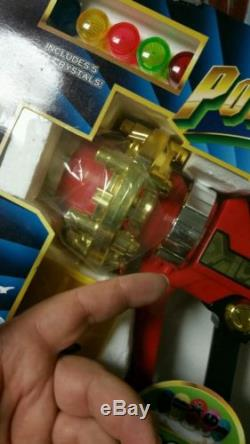 Power Rangers ZEO ZEO CANNON WEAPON COSPLAY NEW SEALED RARE