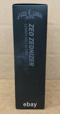 Power Rangers Zeo Legacy Zeonizer Morpher Bandai Complete