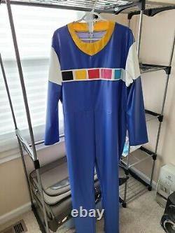 Power Rangers in Space Blue Ranger Cosplay Costume