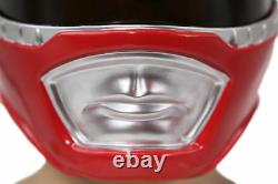Power Red Ranger Helmet Cosplay Costume Props Mask Classic Halloween Party Adult