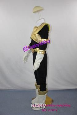 Power ranger Choriki Sentai Ohranger King Ranger Cosplay Costume incl boot cover