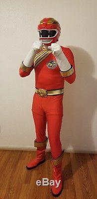 Power ranger wild force costume cosplay aka gaoranger