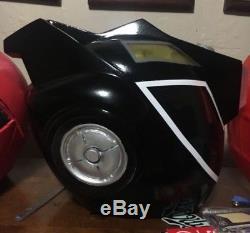 Power rangers black rpm cosplay helmet / go-onger super sentai