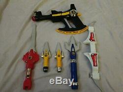 Power rangers mighty morphin Power Blaster cos play