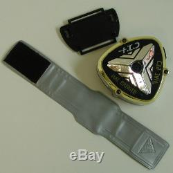 RARE 2001 Power Rangers Time Force Badge COMPLETE morpher cosplay