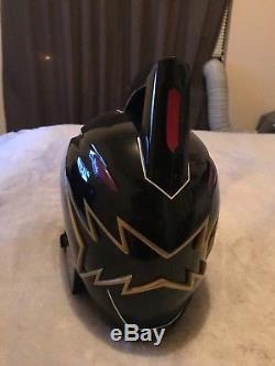 RARE Aniki FULL SET Power Rangers Cosplay Costume Black Dino Thunder Ranger DR O