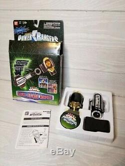 RARE in BOX 1998 POWER RANGERS LOST GALAXY MAGNA DEFENDER MORPHER BANDAI Cosplay