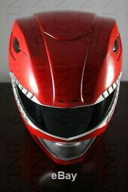 RED RANGER HELMET Mighty Morphin Power Rangers Aniki Cosplay MMPR NOT LEGACY