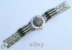 Ranger Communicator Power Green Metal Bracelet Cosplay Prop Novelty
