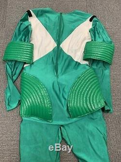 Rare Mighty Morphin Power Rangers Green Movie Costume Cosplay Used