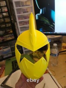 Raw Power Rangers cosplay helmet service READ DESCRIPTION