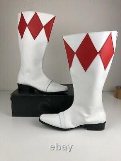 Red Power Ranger Boots, Cosplay Mighty Morphin Power Rangers Size 11 / 12