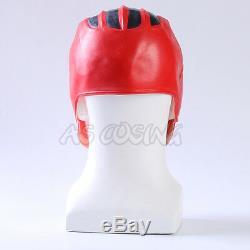 Red Power Rangers Cosplay Helmet Army Cosplay Halloween Soft Latex Mask