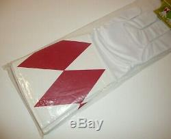 Red Ranger Costume Cosplay Gloves Accessories MMPR Mighty Morphin Power Rangers