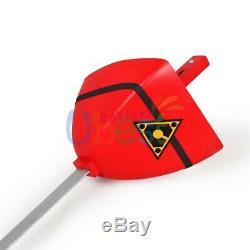 Red Turbo Prop Cosplay Replica Sword Rocky DeSantos Power Rangers Turbo