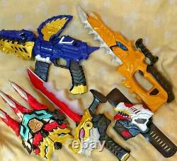 Ryusoulger DX Ryusou Changer Ryusouken Mosa blade Cosplay Power ranger USED toy