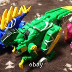 Sentai Kyoryuger Set Cosplay Power Rangers Collection toy USED