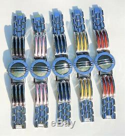 Set of 5 Communicators Power Bracelets Prop for Cosplay