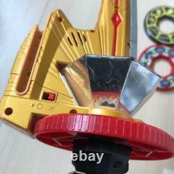Shinkenger Disc Set Sword shodo phone Sushi Changer Power Rangers Cosplay USED