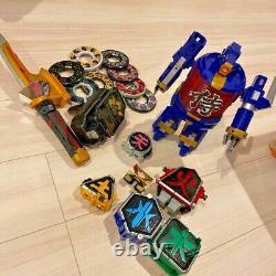 Shinkenger Shinkenmaru Shinken Oh Daigoyou Inromaru Power Rangers set Cosplay