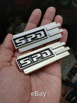 Space patrol cosplay SPD Rank badge solid metal pin Power Rangers prop replica