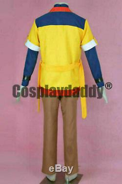 Star Ocean Blue Sphere Leon D. S. Gehste Outfit Cosplay Costume