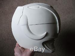 Stunt Cast Black Power Ranger Mammoth Helmet Mighty Morphin Mmpr Cosplay