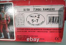 TURBO RANGER (Power Rangers). Costume/Cosplay. Josman (Spain)© Toei. 1990. New