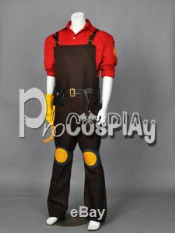 Team Fortress 2 Red Engineer Cosplay Costume