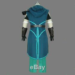 The Dragon Prince Runaan Elf Assassin Cosplay Costume Men COS Fancy Dress