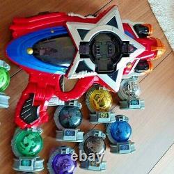 Uchu Sentai Kyuranger DX Seiza Blaster Power Ranger Collection cosplay toy USED