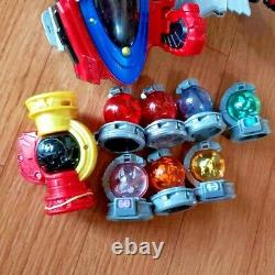 Uchu Sentai Kyuranger Set Power Ranger Collection Cosplay USED DX DX Ho-Oh blade