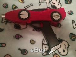 Vintage Bandai Mmpr Turbo Rangers Red Black Car Gun Cosplay Roleplay
