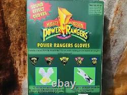 Vintage Cosplay Mighty Morphin Power Rangers Red Ranger Tyrannosaurus Rex Gloves